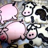 Barnyard Animal Cookies