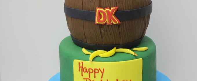 Donny kong birthday cake